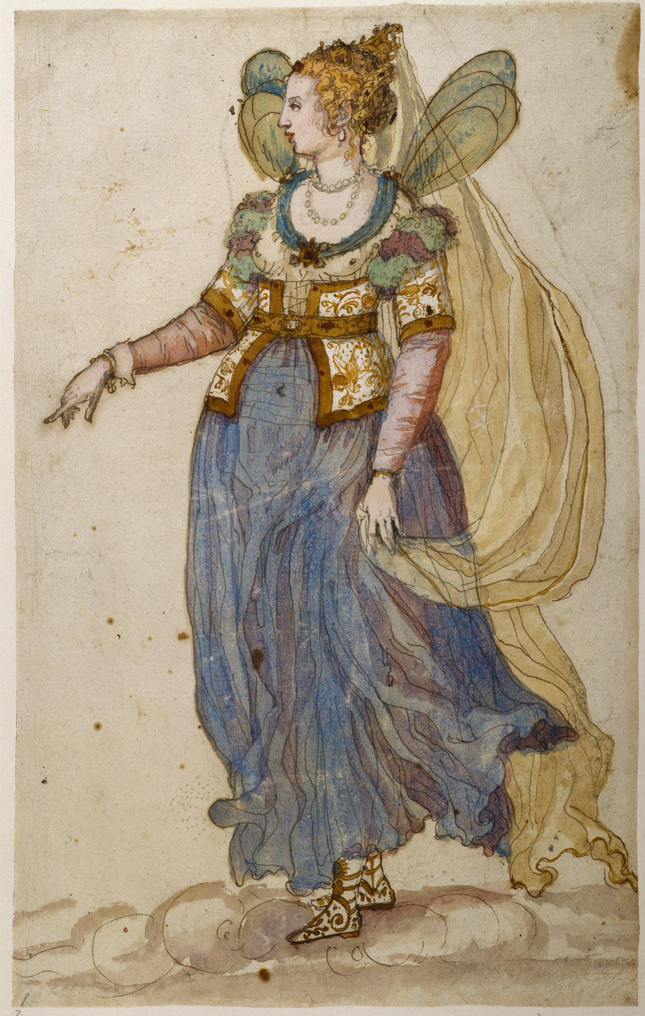 Inigo Jones designs for masque costumes