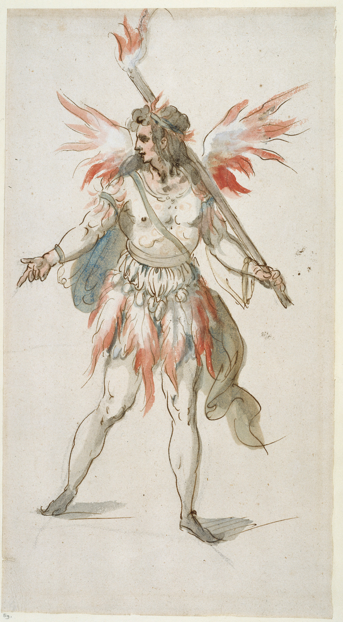 Inigo Jones designs for masque costumes