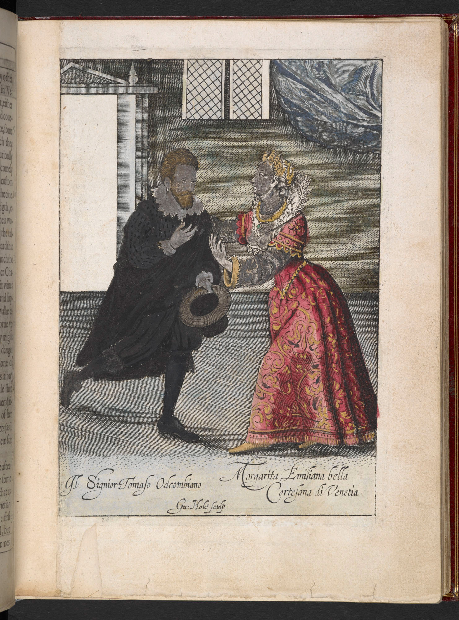 Description of the Jewish Ghetto and the courtesans of Venice in Coryate's Crudities, 1611