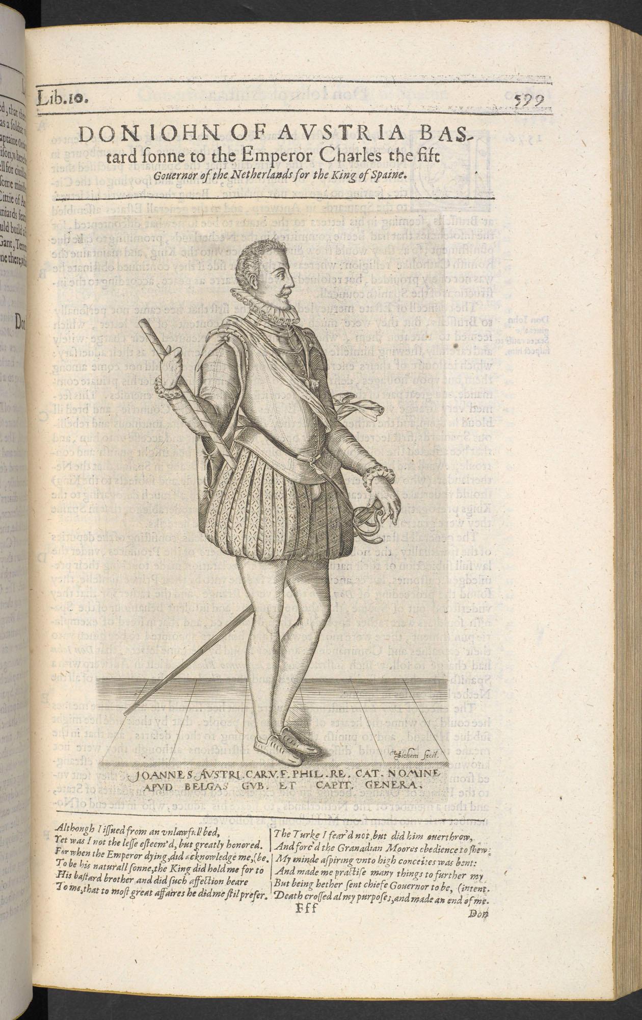 Don John of Austria, bastard son of Charles V