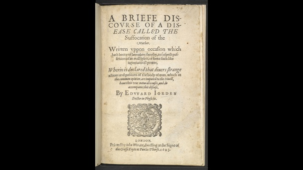 First English book on hysteria, 1603