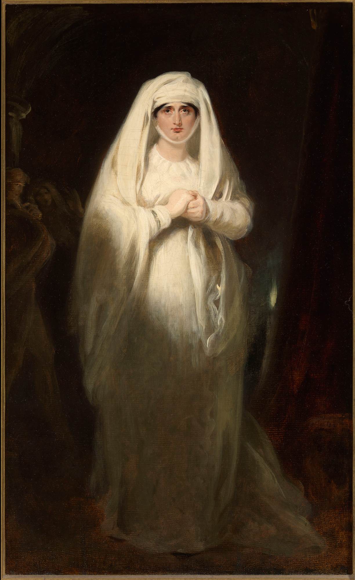 Portrait of Sarah Siddons as Lady Macbeth by George Henry Harlow