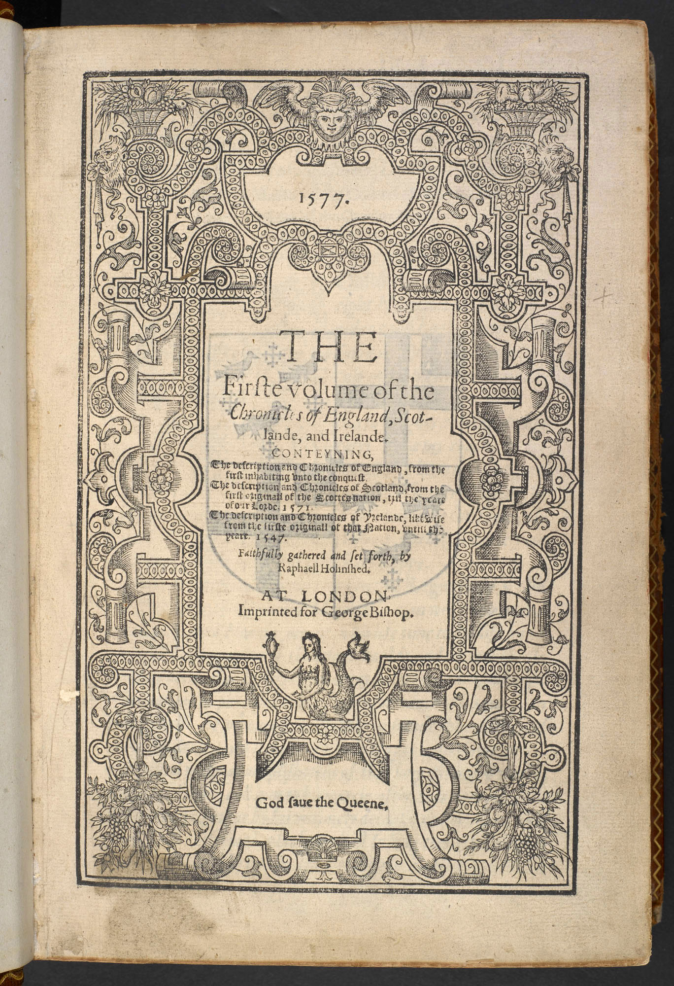 Holinshed's Chronicles, 1577