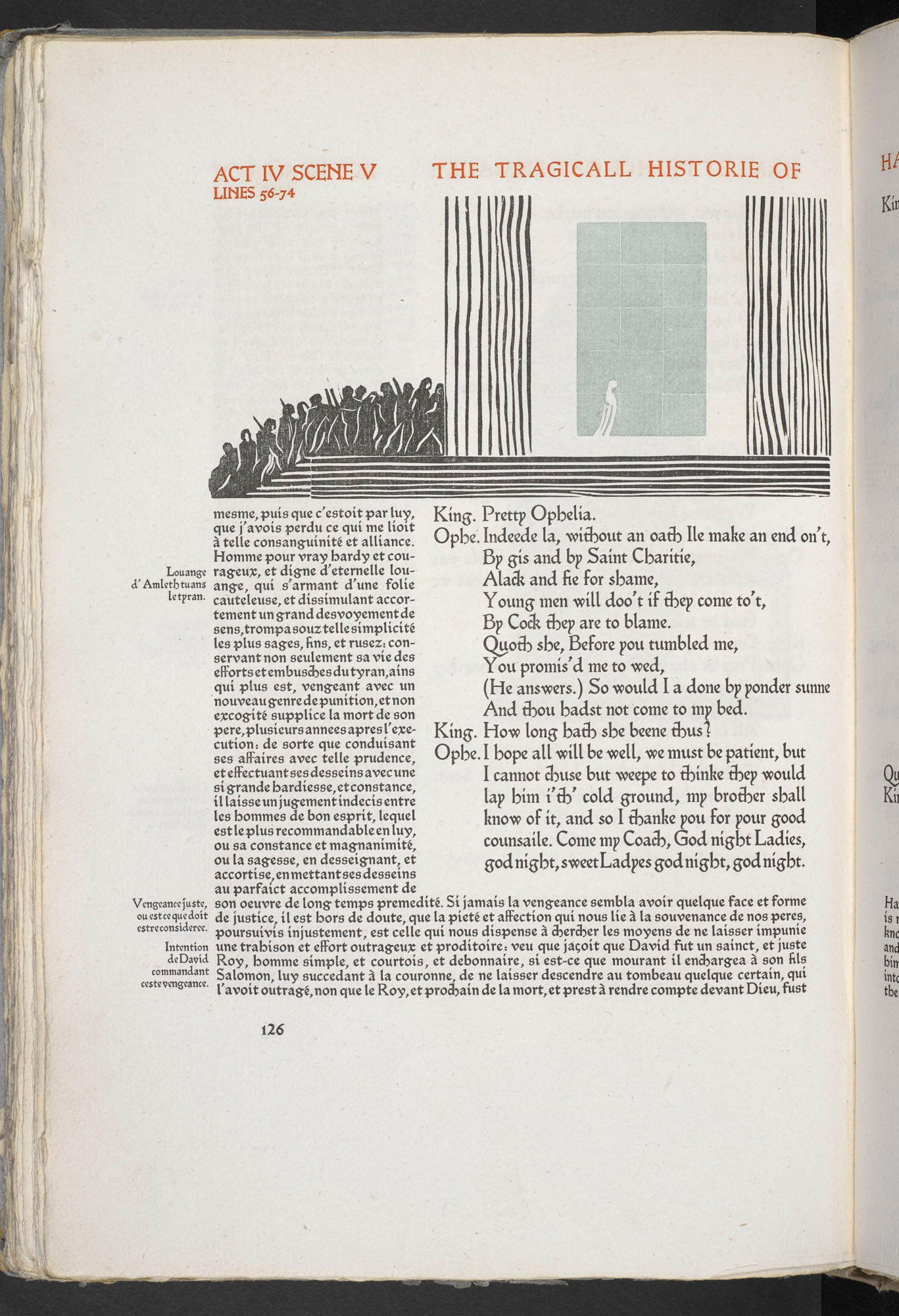 Illustrations for Hamlet by Edward Gordon Craig