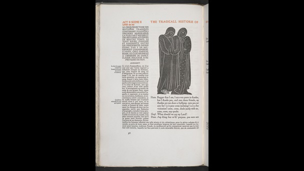 Illustrations for Hamlet by Edward Gordon Craig