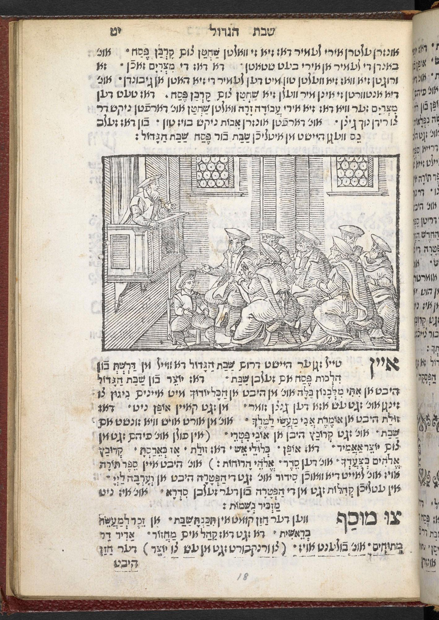 Jewish book of customs