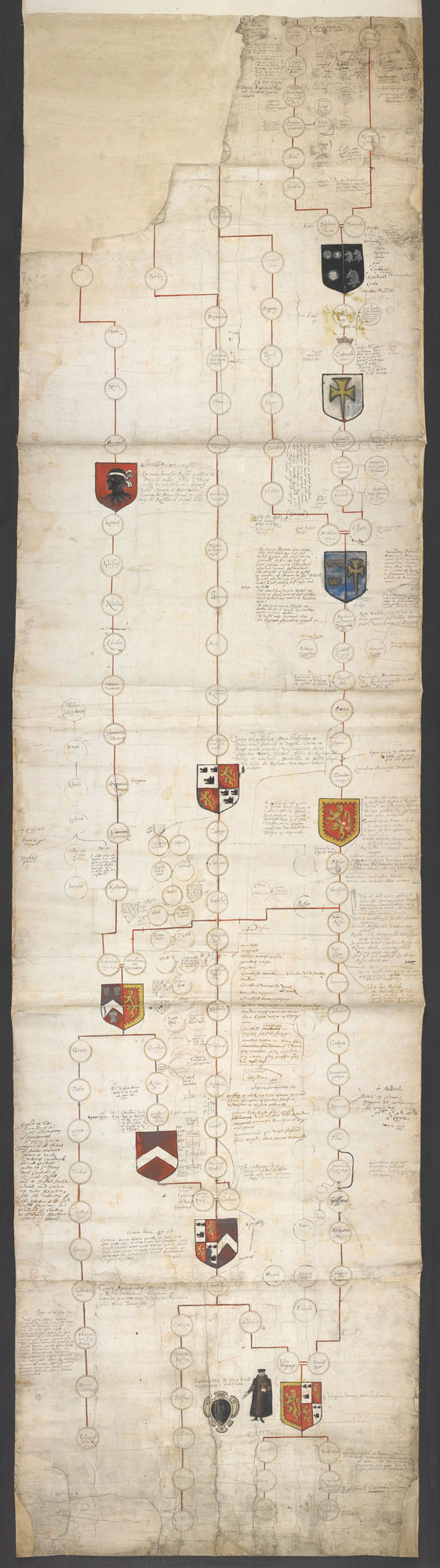 John Dee's genealogy and self-portrait - The British Library