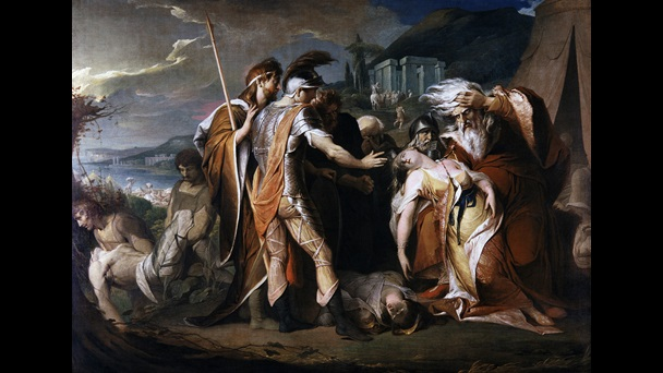 King Lear Weeping over the Dead Body of Cordelia, by James Barry