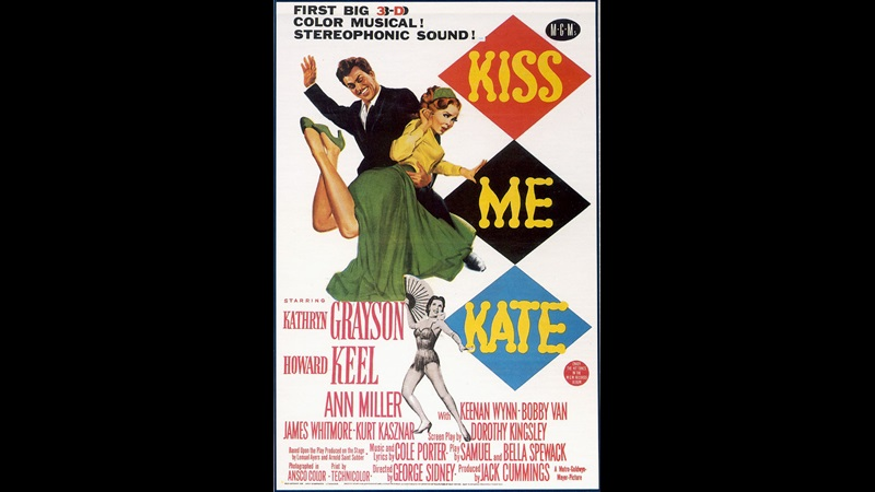 Kiss Me Kate film poster