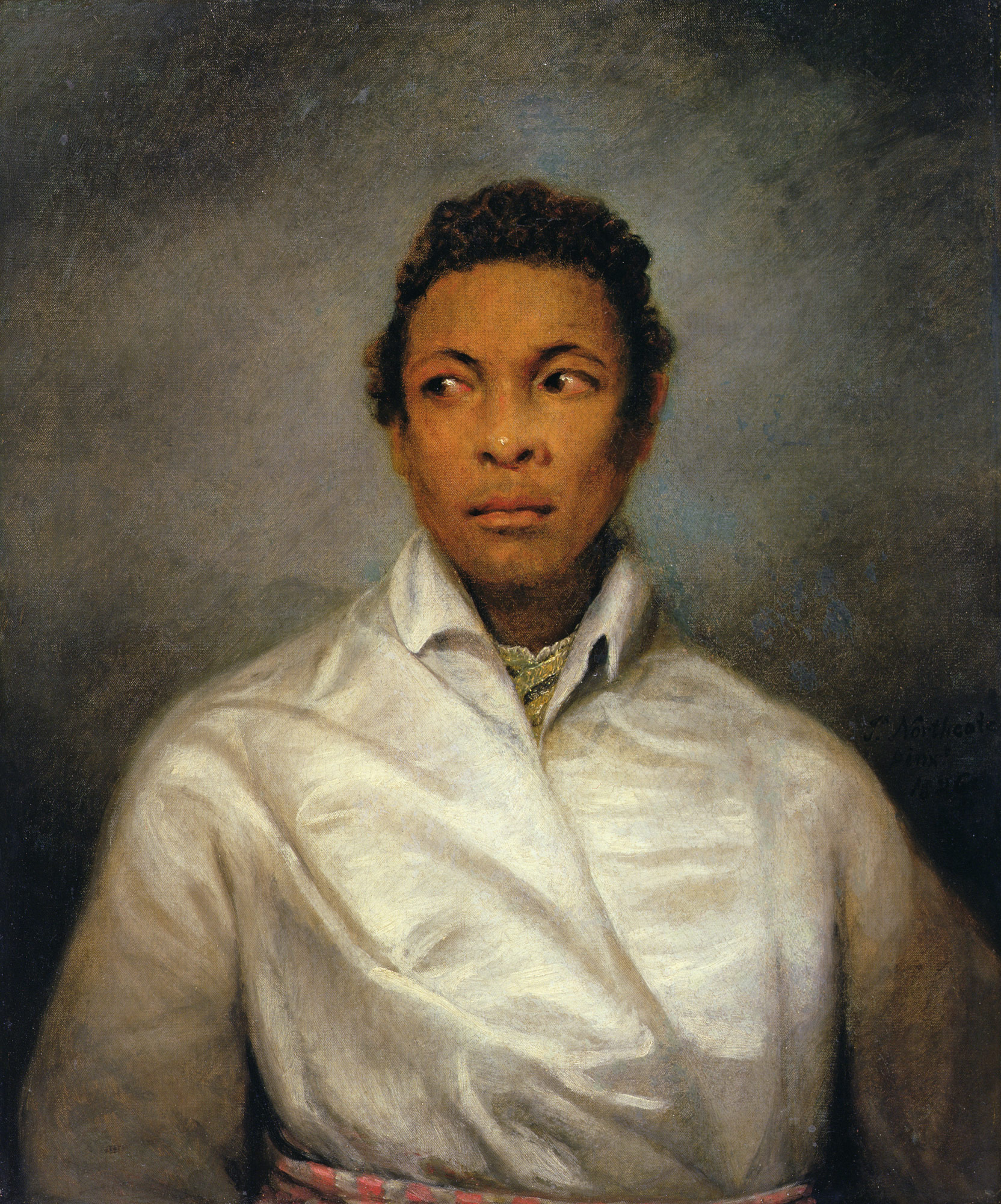 The Moor' painting of Ira Aldridge as Othello by James Northcote