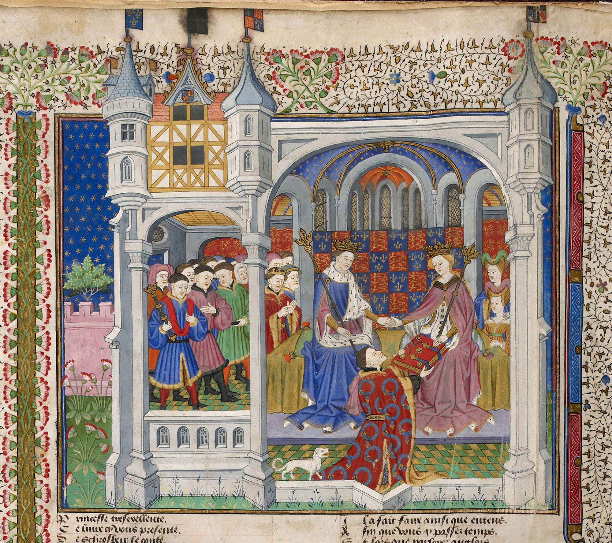 Margaret of Anjou in the Talbot Shrewsbury book