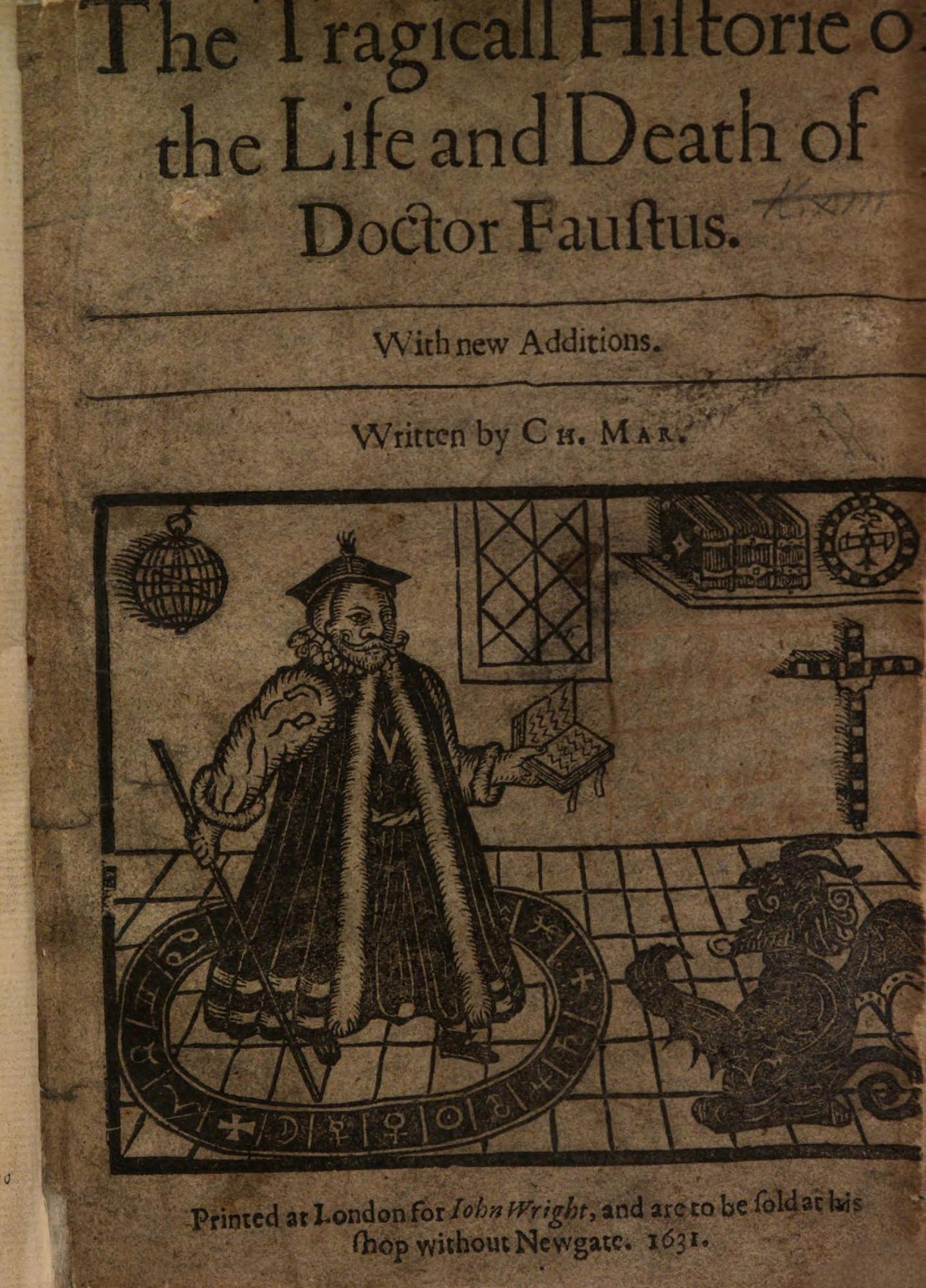 Marlowe's Doctor Faustus, 1631