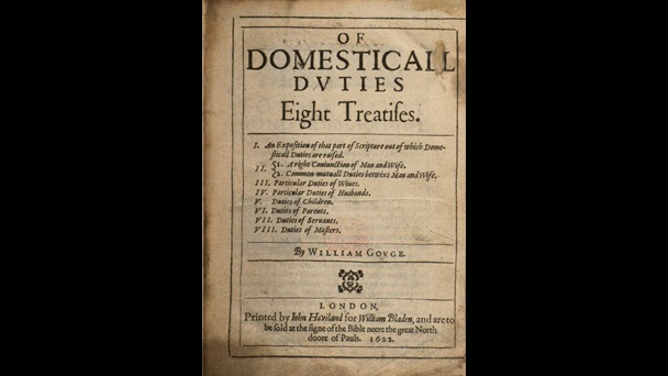 Of Domesticall Duties by William Gouge, 1622