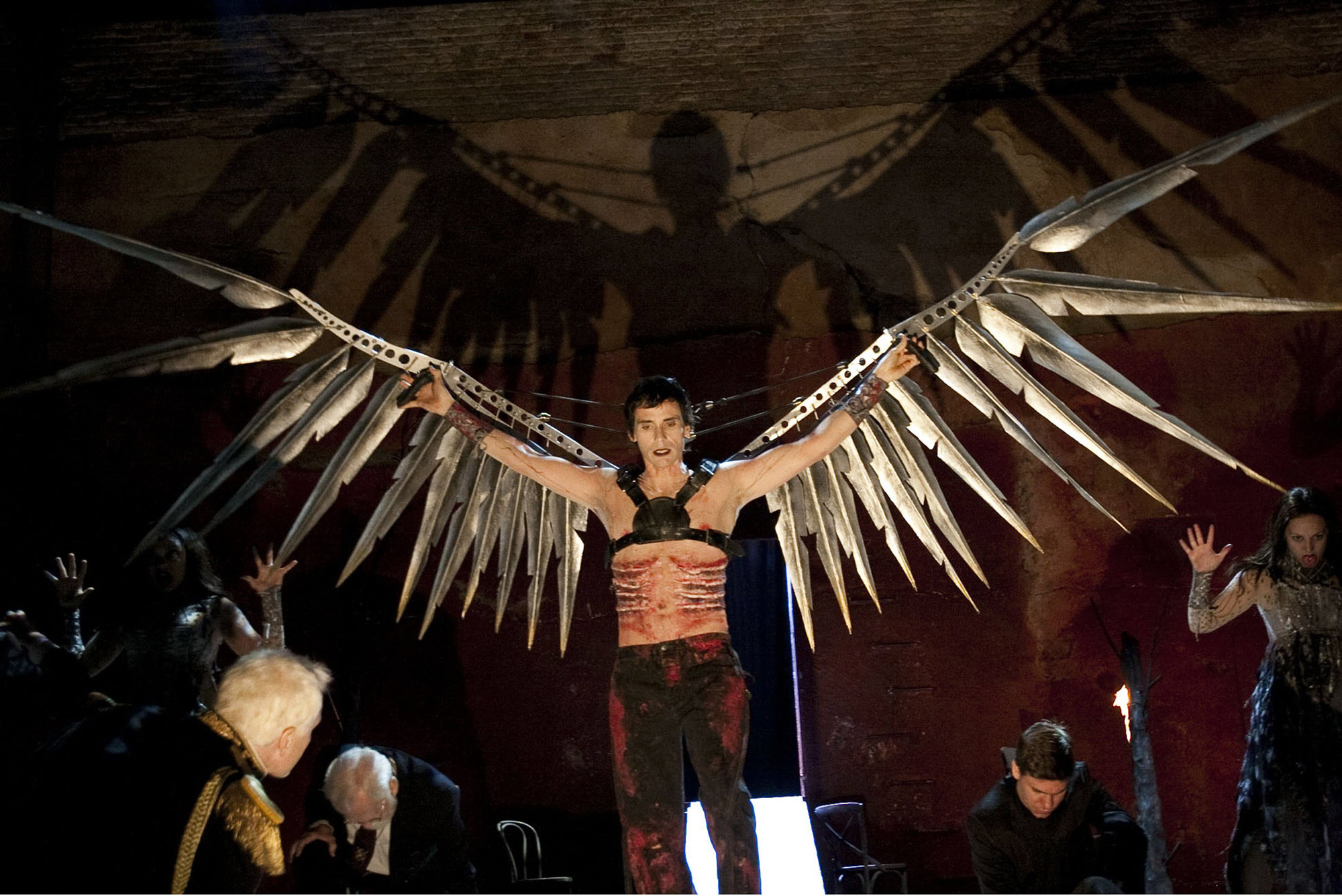 Photograph of Christian Camargo in the Tempest directed by Sam Mendes, 2010