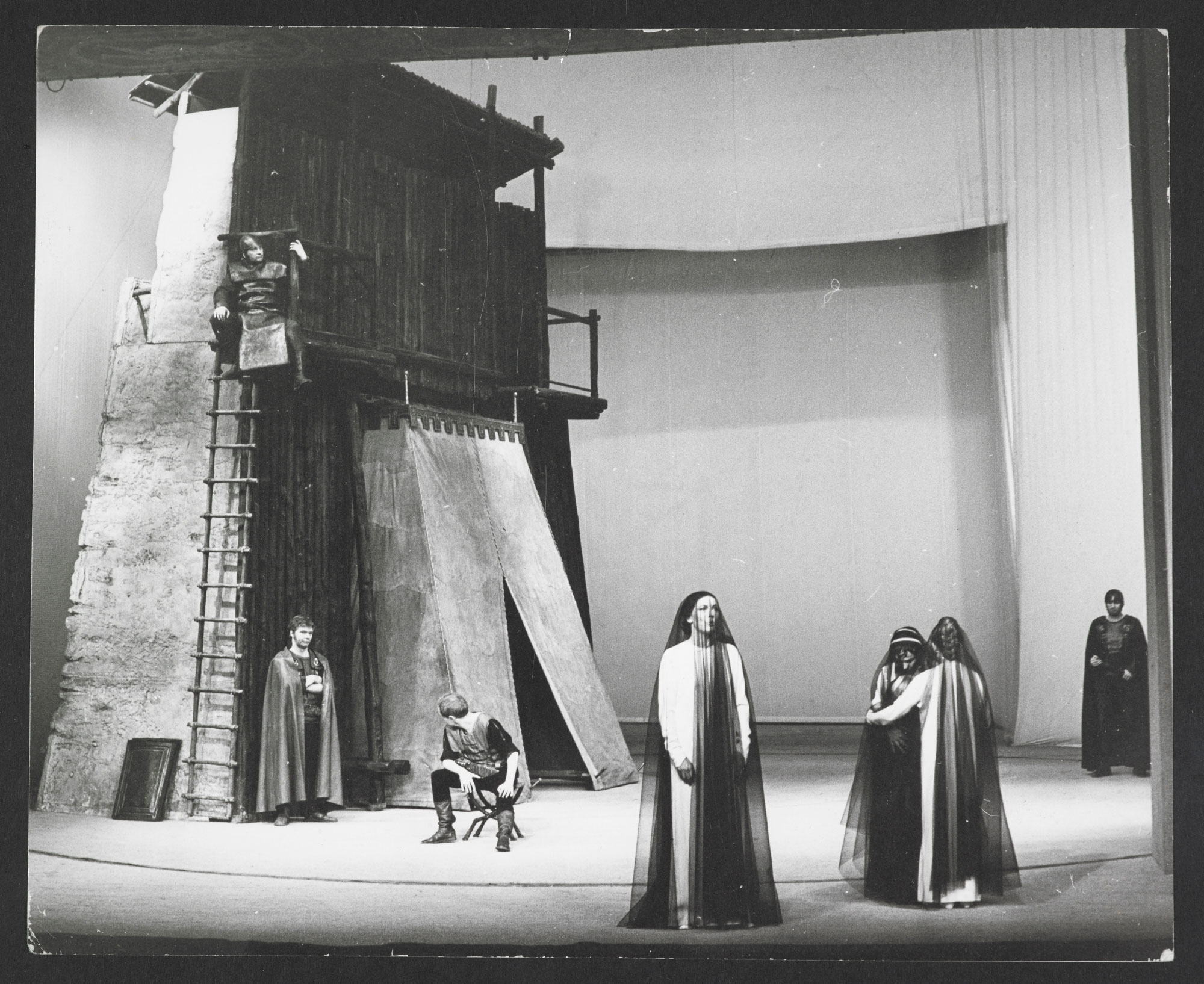 Photographs of Berliner Ensemble's Coriolanus