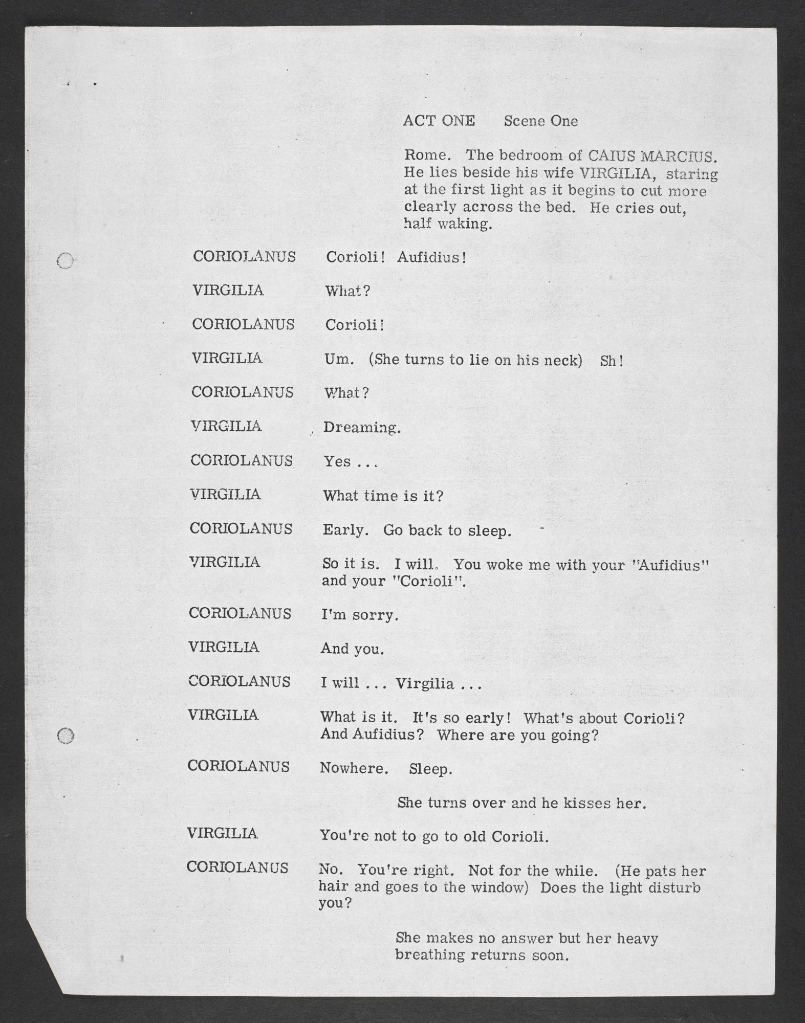 Playscript of A Place Calling Itself Rome by John Osborne - The ...