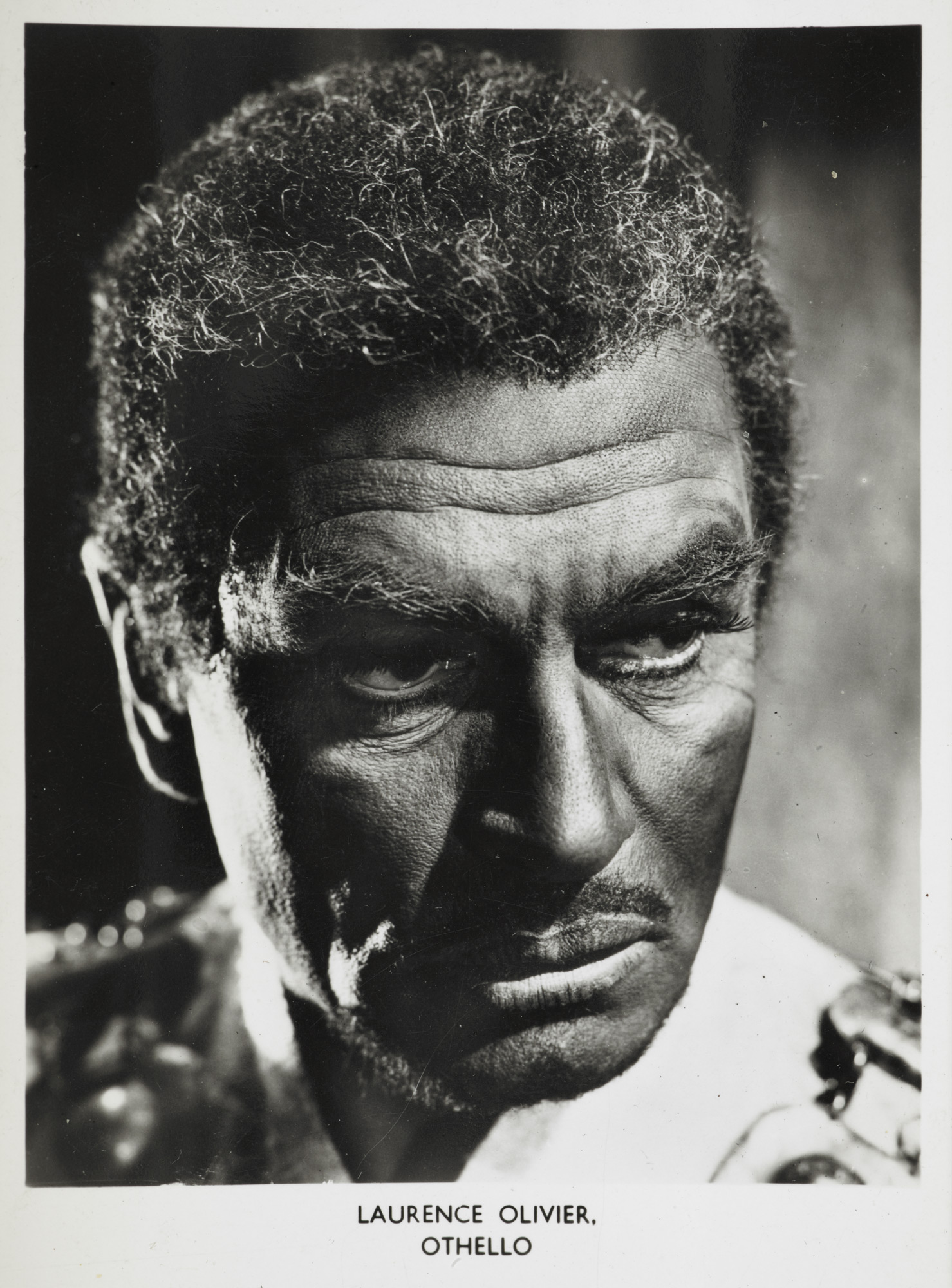 Postcard of Olivier as Othello, 1964