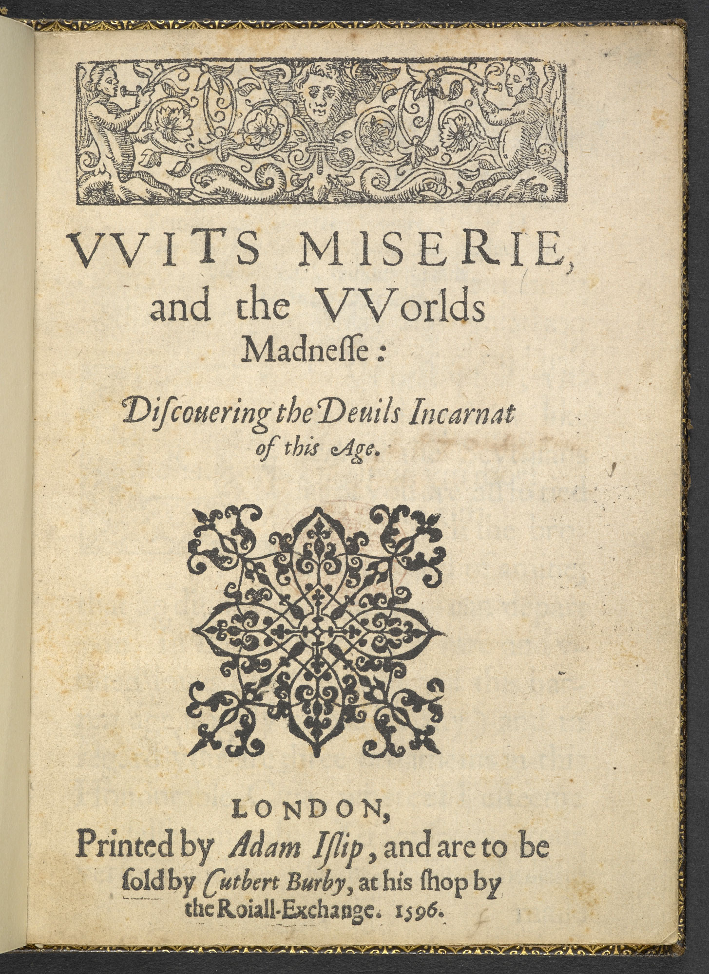 Reference to early Hamlet play in Lodge's Wit's Misery, 1596