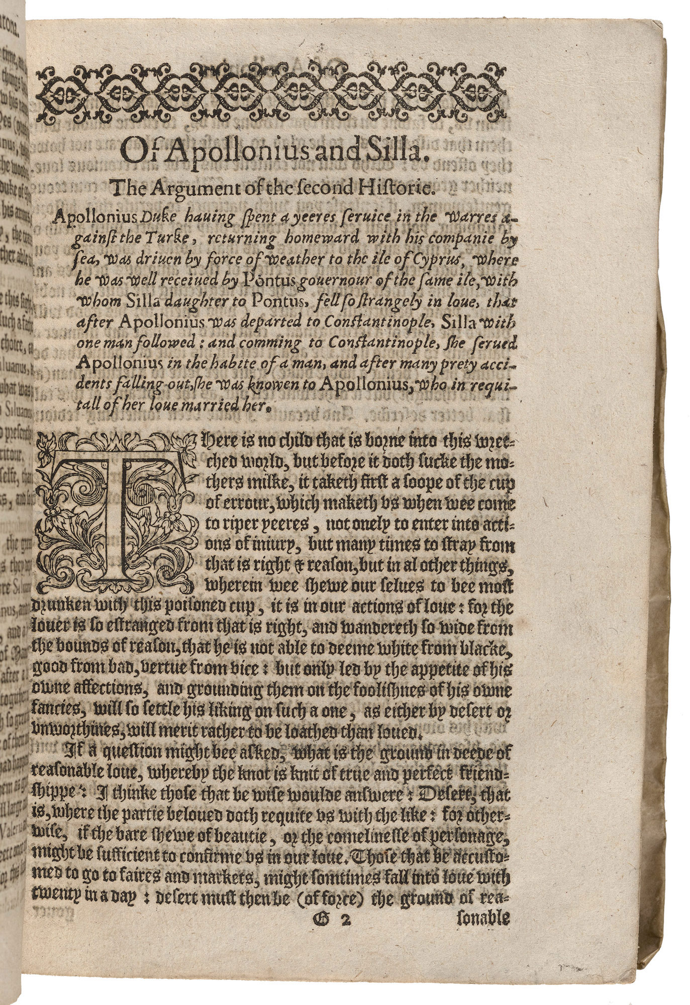 Rich his Farewell to Military Profession, 1594