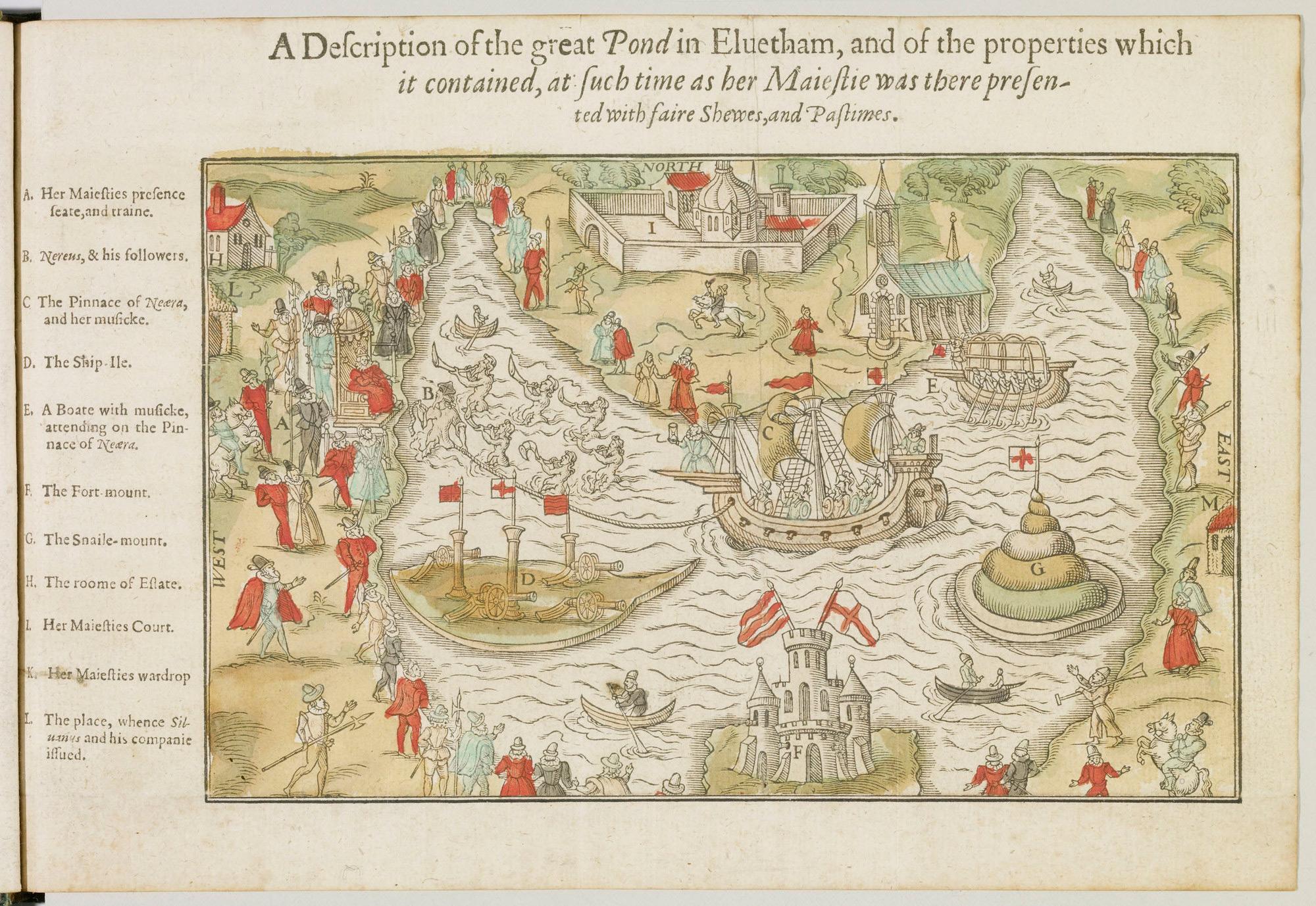 An Entertainment for Elizabeth I at Elvetham, 1591