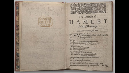 Second quarto of Hamlet,1605