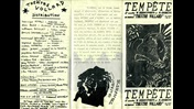 Programme from a 1980 production of Aimé Césaire's Une Tempête
