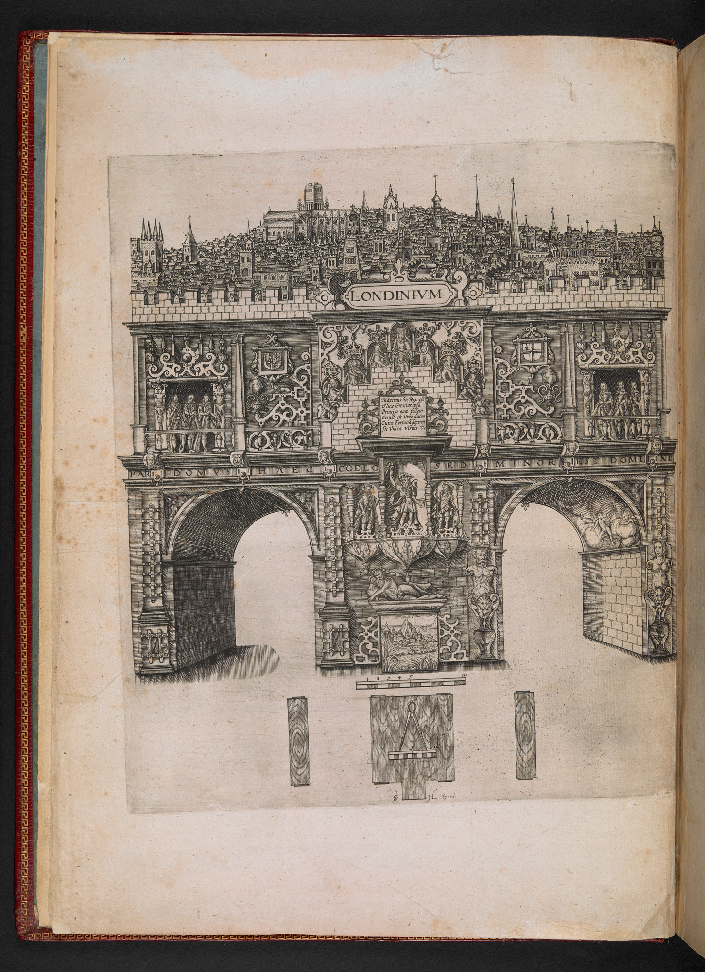 The Arches of Triumph, built for James I's entry into London