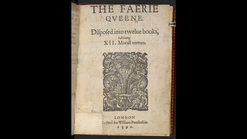 The Faerie Queene by Edmund Spenser, 1590