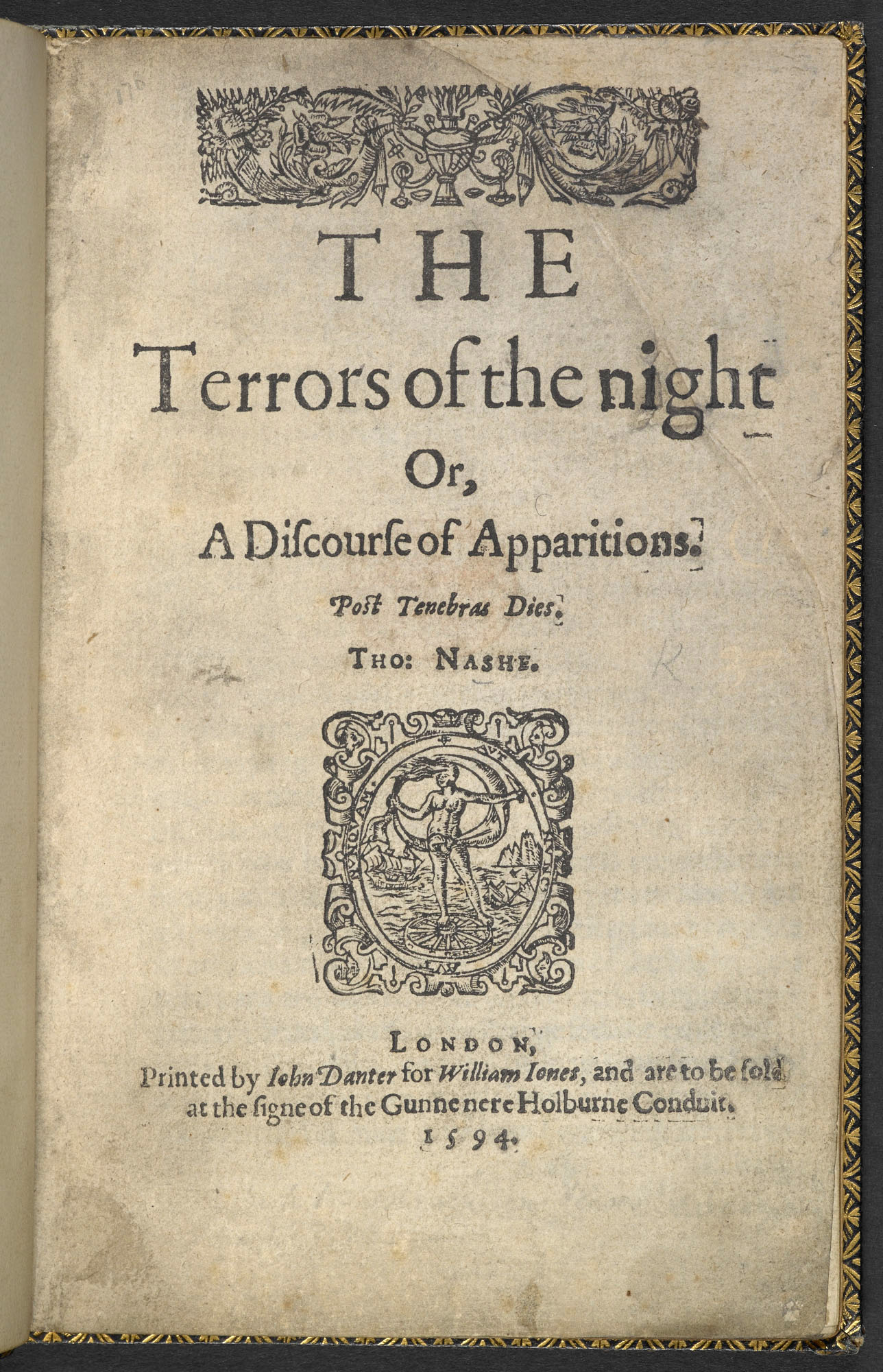 The Terrors of the Night by Thomas Nash, 1594