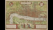 View of London in Civitates Orbis Terrarum