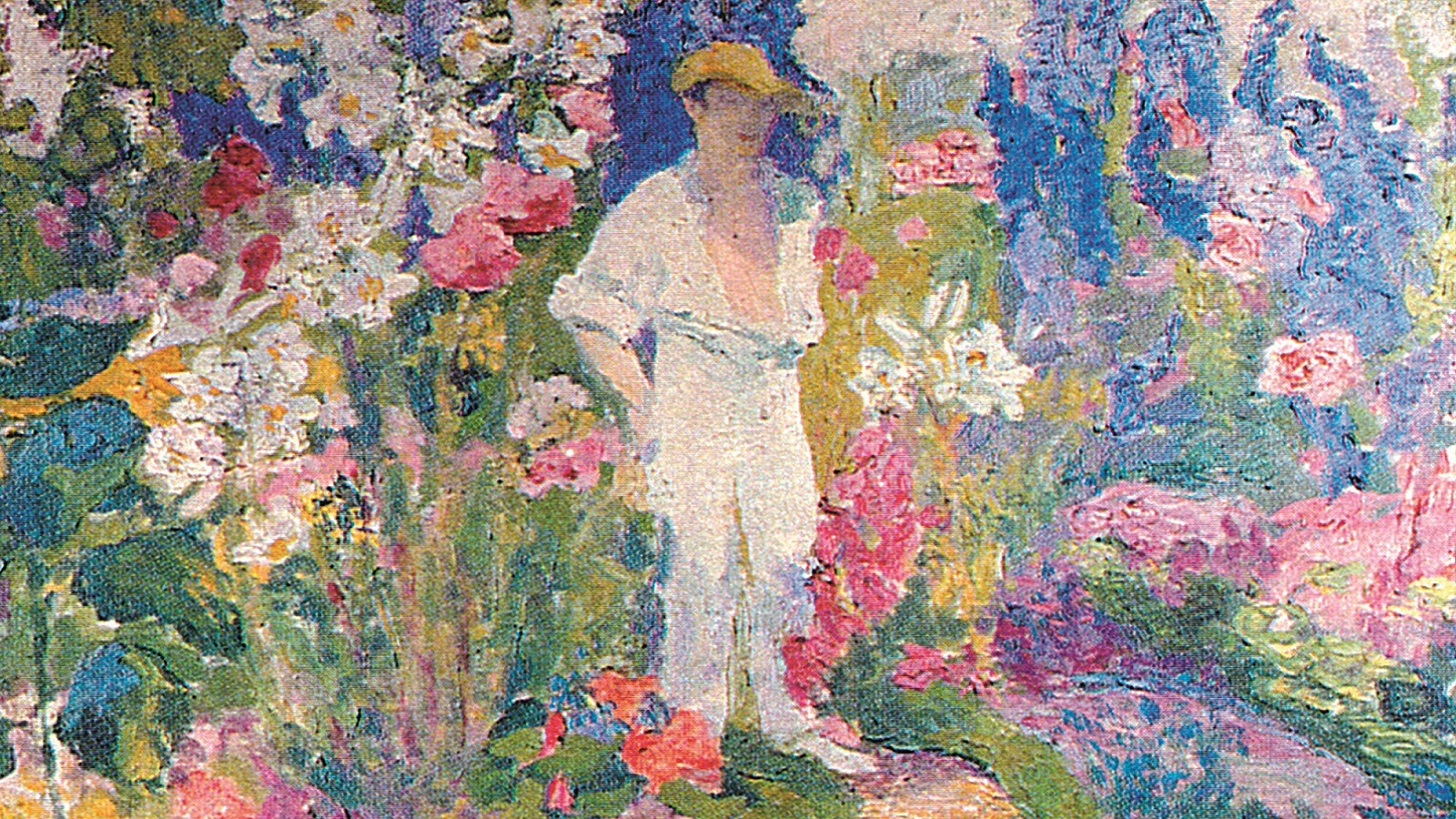 Delius in his garden