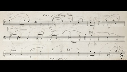 Frederick Delius, Cello Sonata, with editorial markings by Beatrice Harrison