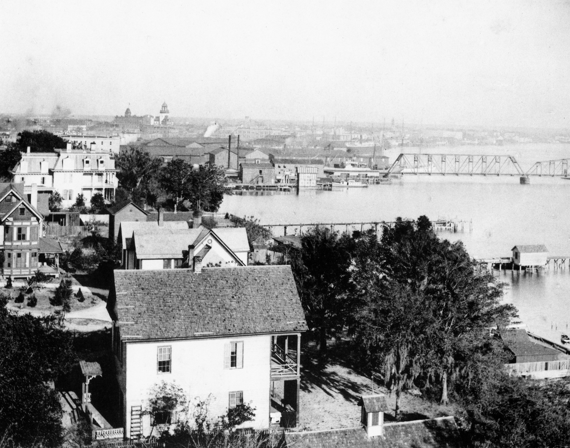 Jacksonville Harbour, Florida, in 1894
