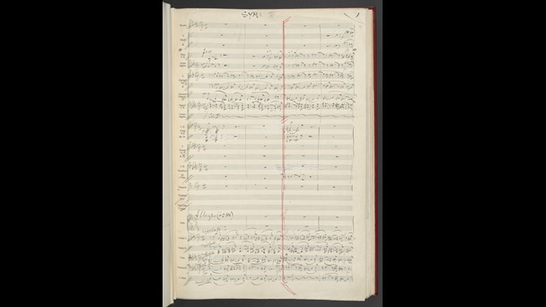 Edward Elgar, Sketches for Symphony no.3, Add MS 56101