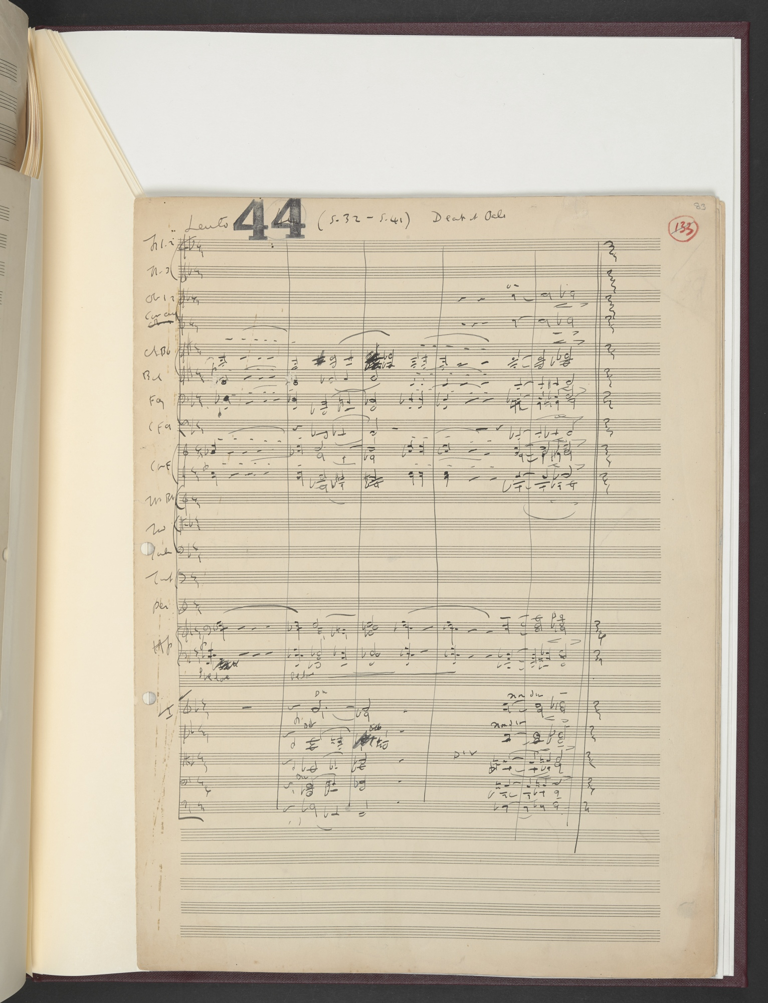 Ralph Vaughan Williams, Scott of the Antarctic (1948), Add MS 59537