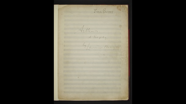 Edward Elgar, Arthur, Add MS 59870