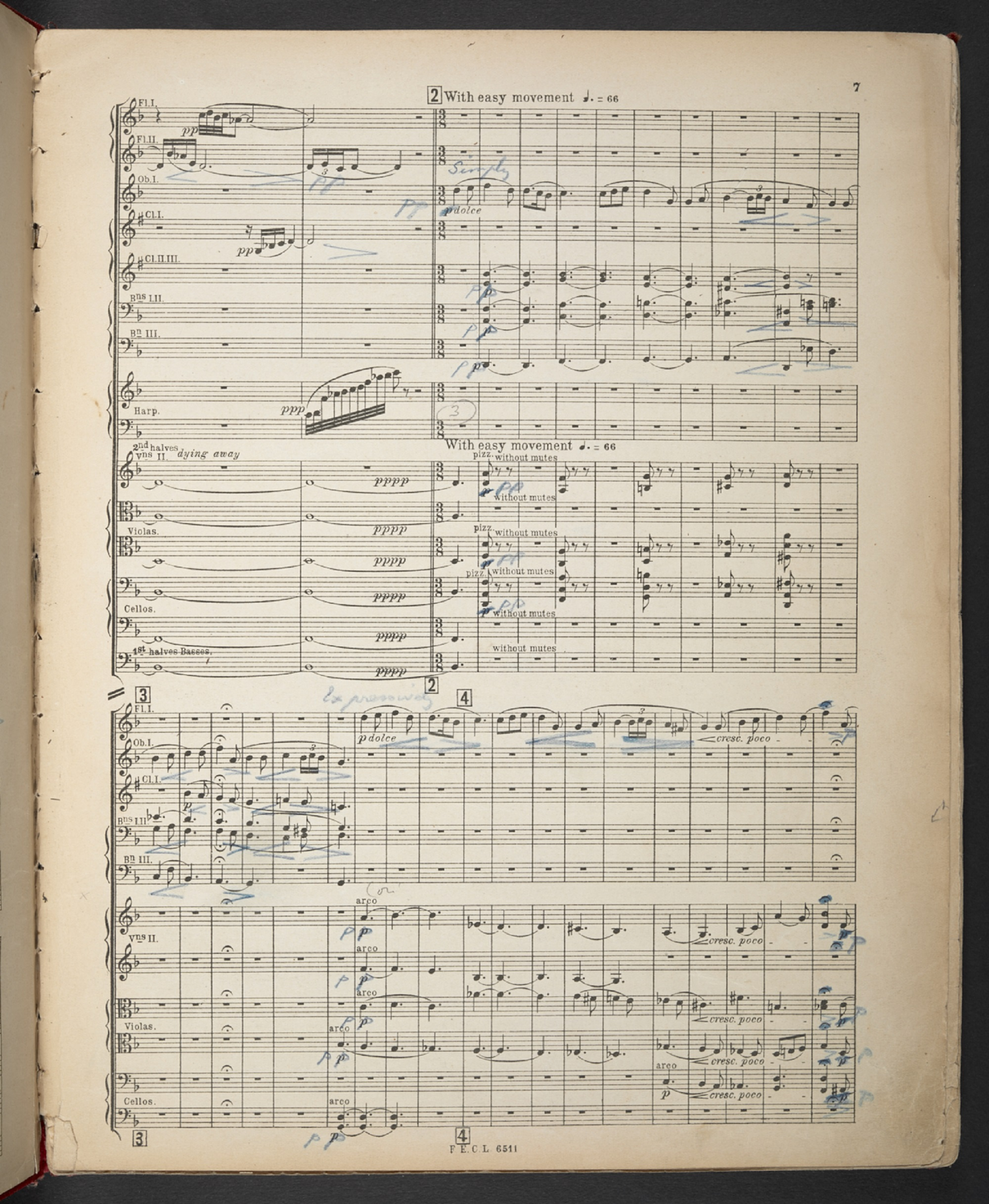 Frederick Delius, Brigg Fair, annotated by Thomas Beecham
