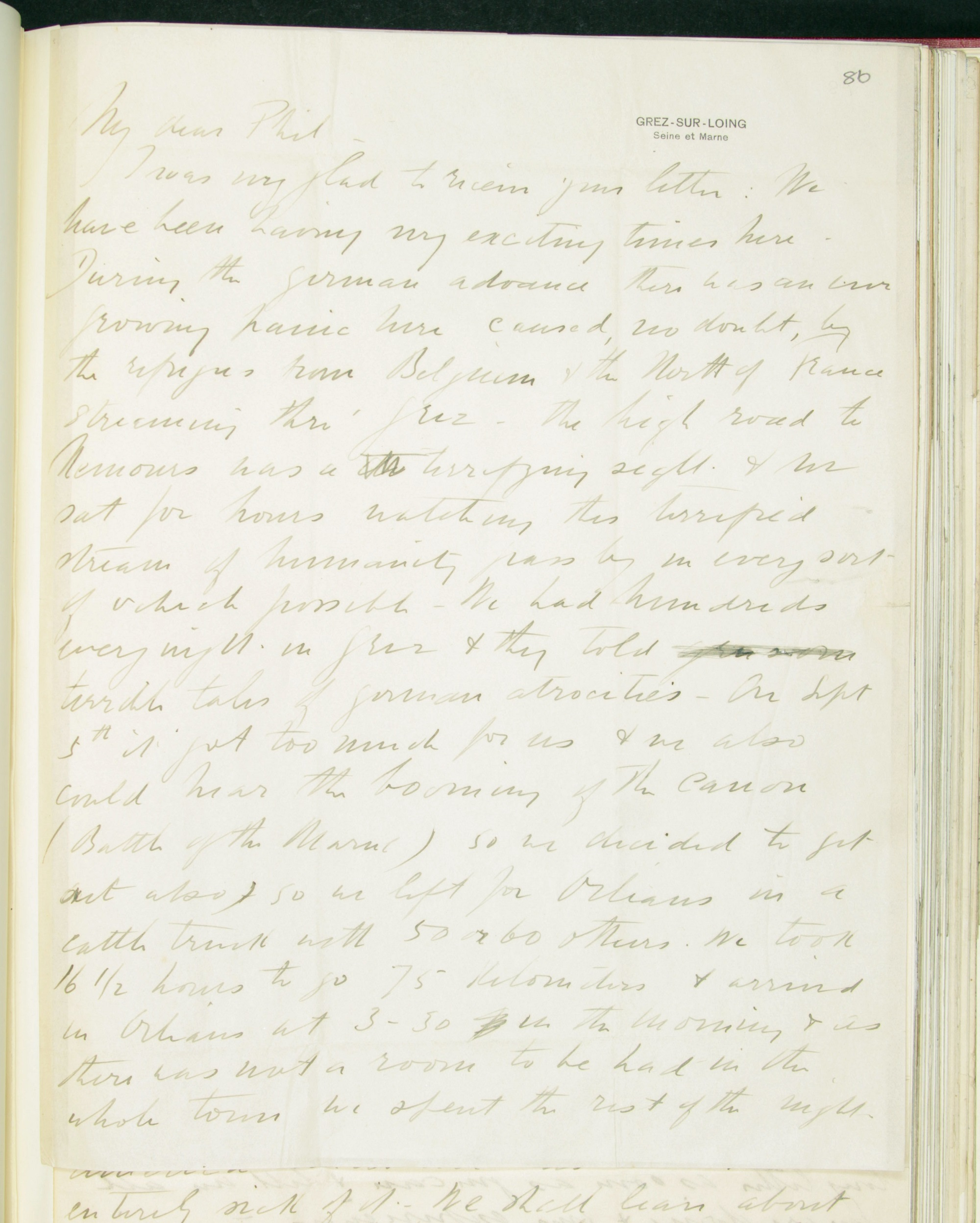 Frederick Delius, Letter to Philip Heseltine, 26 October 1914, f. 86r