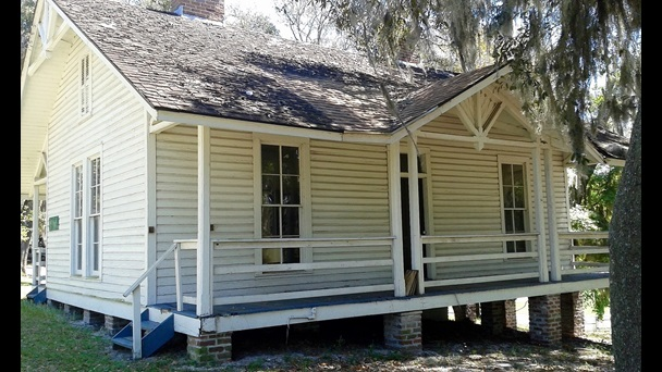 Frederick Delius's house at Solana Grove, Florida