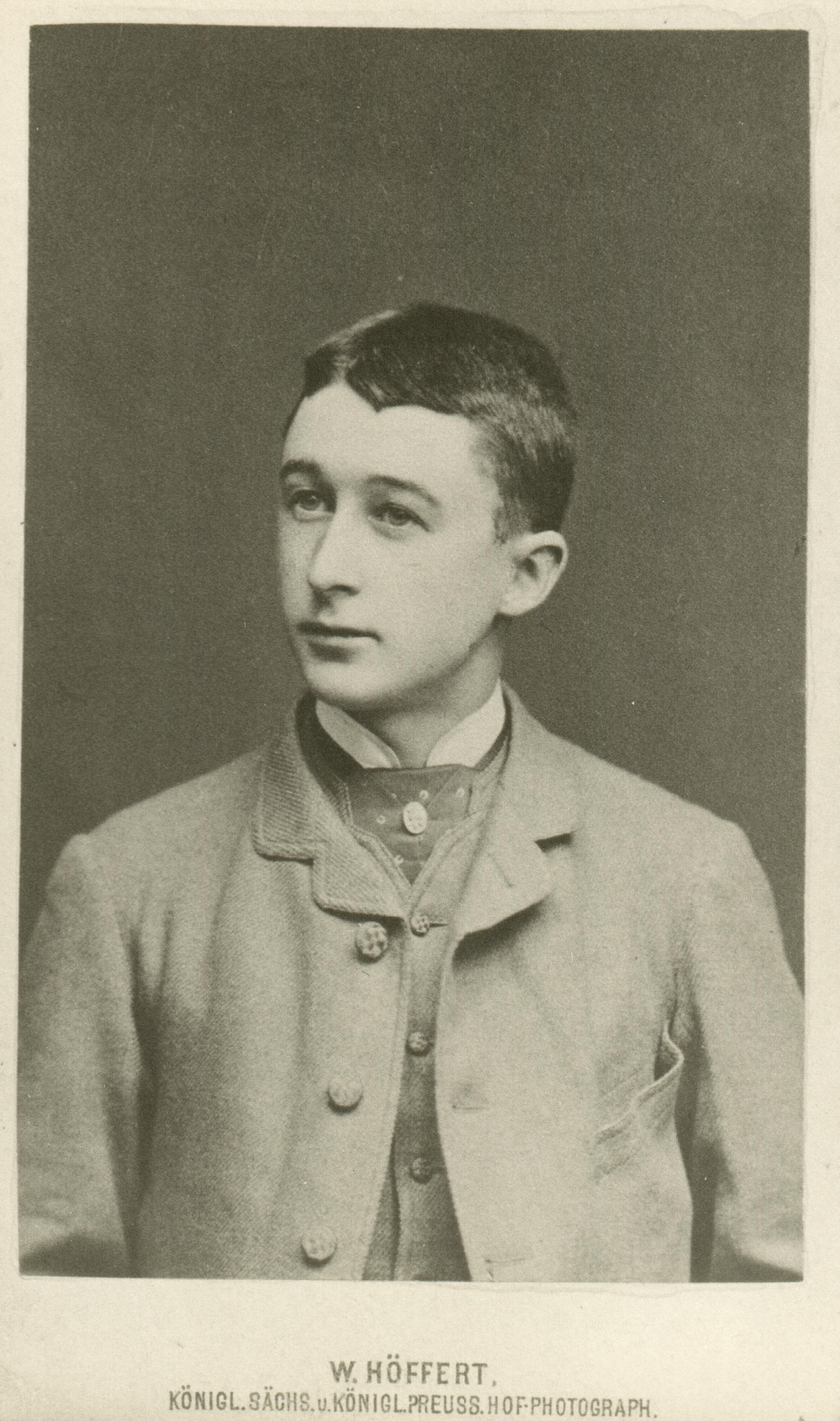 Frederick Delius in the mid-1870s