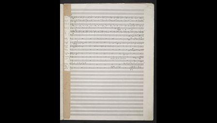 Arnold Schoenberg: Five Orchestral Pieces, Zweig MS 77