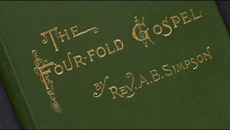 Front cover of The Four-Fold Gospel