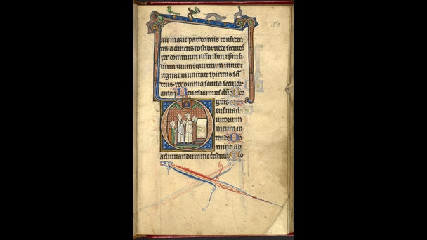 13th Century English Book Of Hours The British Library