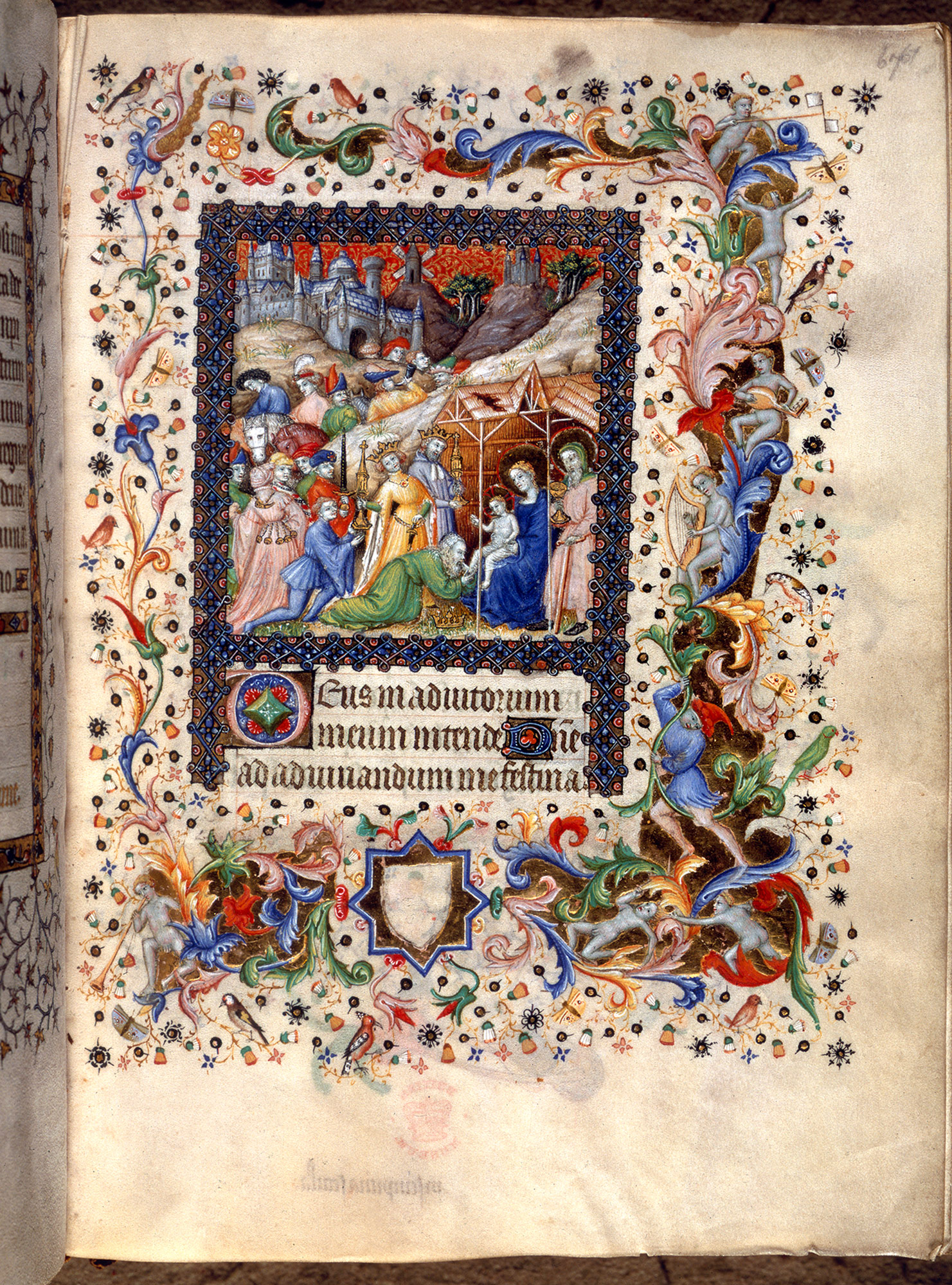 french 15th century book of hours, Add MS 29433