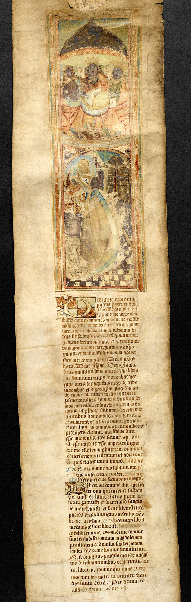 Henry VIII prayer scroll