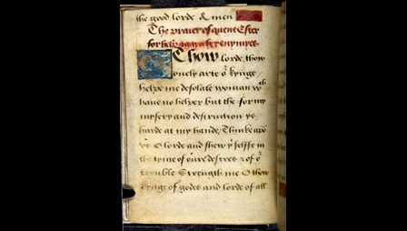 Lady Jane Grey's Prayer book