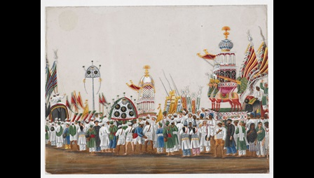 Painting of the Muharram Festival