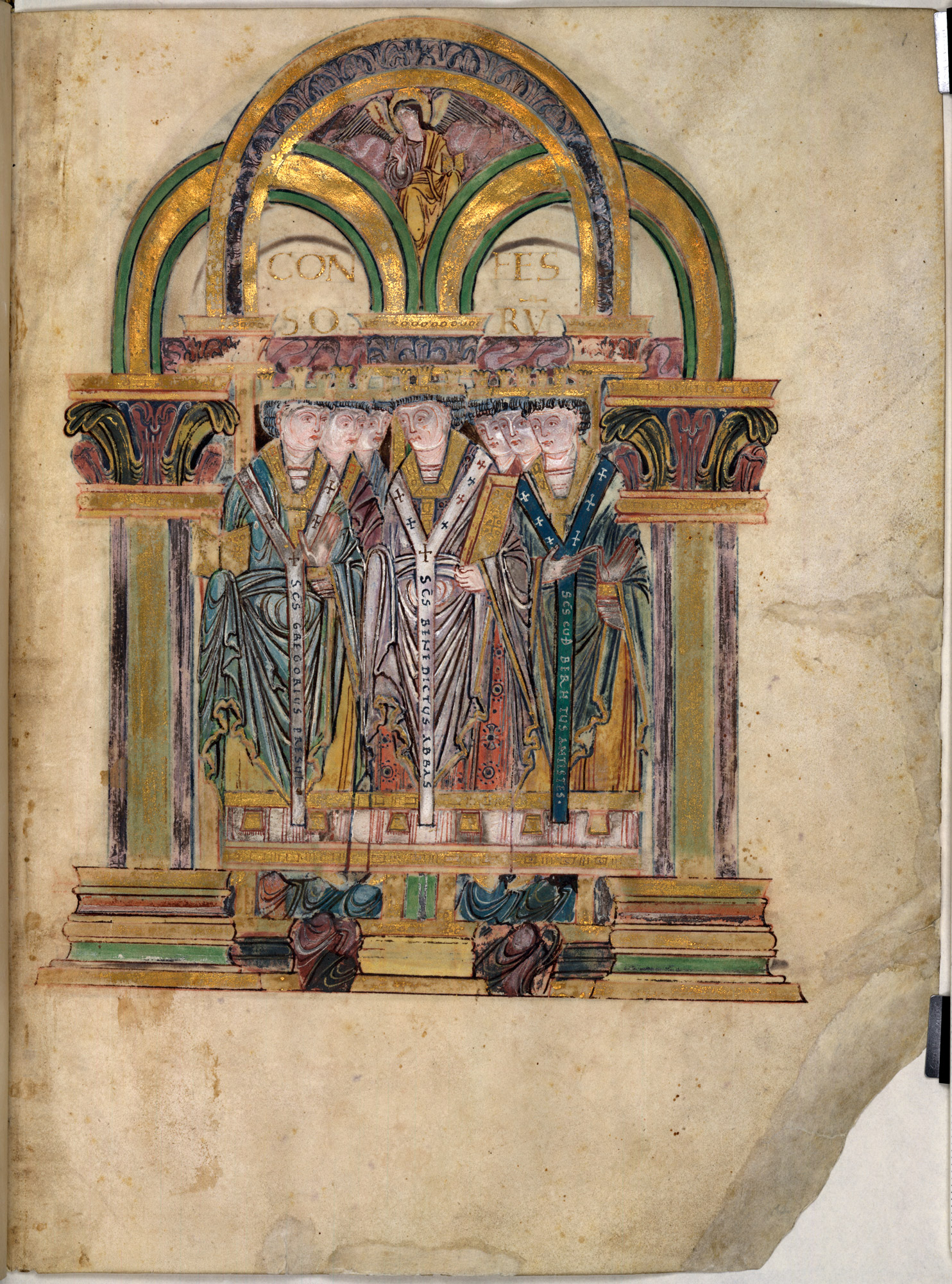 Benedictional of St Æthelwold - The British Library
