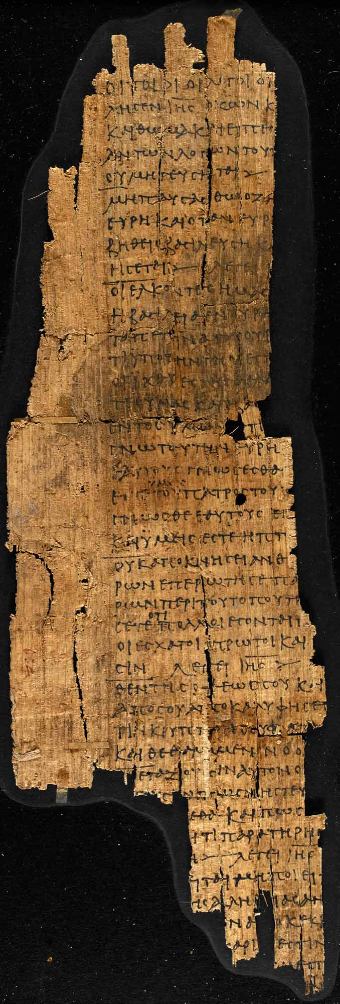 A third century fragment from Gospel of Thomas - The British
