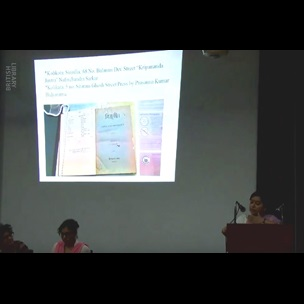 "Hemjyoti Medhi, who teaches English at Tezpur University, Assam, presents '""I alone am the rightful Panda for the Assamese at Kalighat Temple"": Reading Advertisements, Pilgrim Connections and the Political Economy of Vernacular Print Cultures in the Bijuli (A Nineteenth Century Asamiya Periodical)"